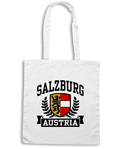 T-Shirtshock - Borsa Shopping TSTEM0085 salzburg austria Bianco