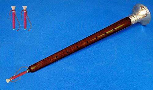 Orientalische Blättern (Shehai Indianer, groß, 45 cm, orientalisches Holz, Rosenholz + 2 extra Blätter)