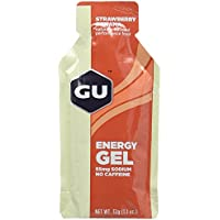 GU Strawberry Banana Flavour Energy Gels - Box of 24