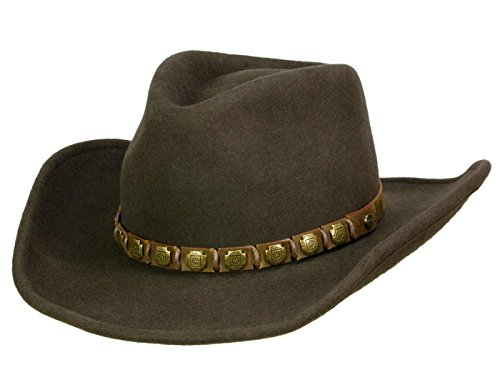 Stetson Chapeau Cowboy Hackberry Woolfelt Homme - Marron