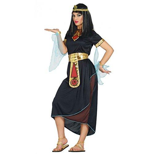Guirca Cleopatra Kostüm für Damen Ägypterin Königin Orient Antike Fasching Blau