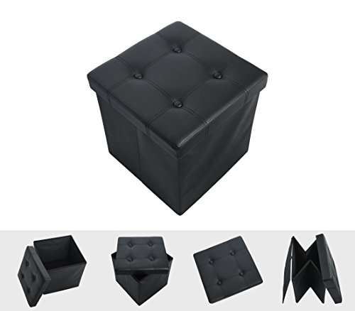 foldable-single-space-saving-imitation-leather-ottoman-seat-storage-box-for-toyclothes-and-books-bla