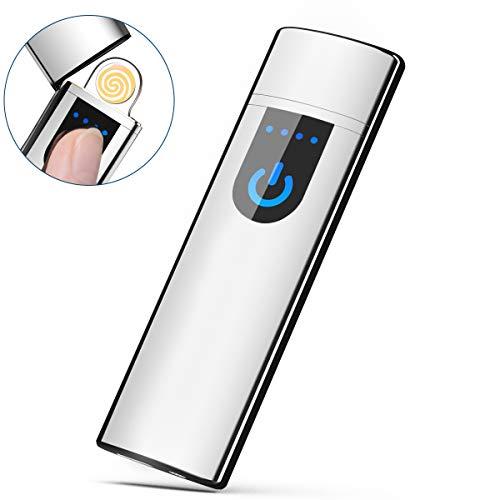 Fypo Briquet Electrique, Briquet USB Rechargeable,...