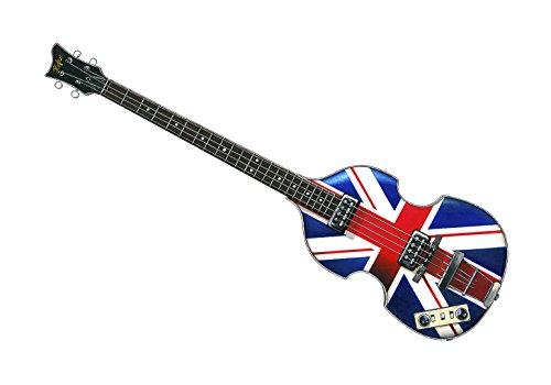 Bajo del violín del jubileo de Hofner de Paul McCartney - IMPRESIÓN del CARTEL Tamaño A1