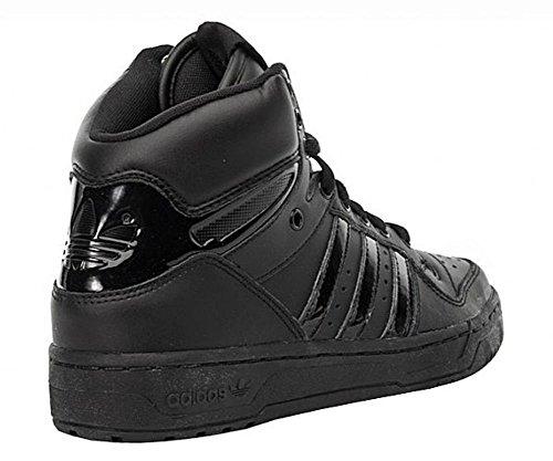 adidasADIDAS M ATTITUDE W - Sneaker Donna Nero (Schwarz (Schwarz-Schwarz))