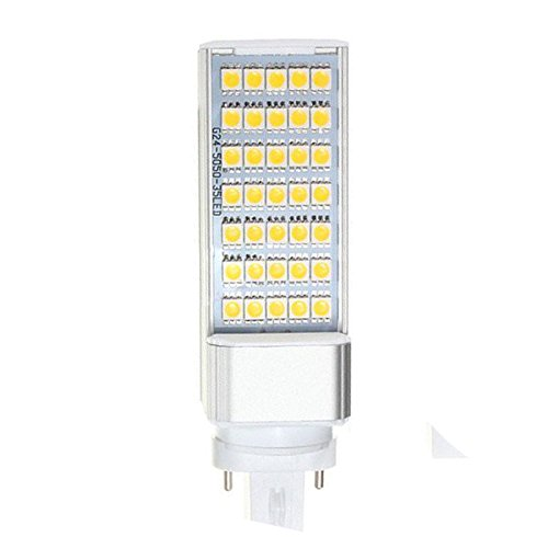 SODIAL(R) G23 7W 5050 SMD Weisse LED Horizontale Stecker Lampe Mais Hause Decke Warm Weisses Licht