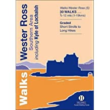 Walks Wester Ross Southern Area: Including Kyle of Lochalsh (Hallewell Pocket Walking Guides)