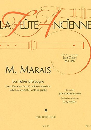 Marin Marais: la Flte Ancienne - les Folies d'Espagne