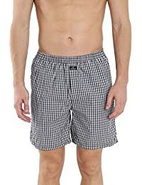 Jockey Multi Colour Check Boxer Short (Pack Of 2) Style #1223 (Size-Medium)