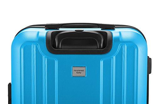 HAUPTSTADTKOFFER - X-Berg – Koffer Trolley Hartschale, TSA, 65 cm, 89 Liter, Cyanblau - 7
