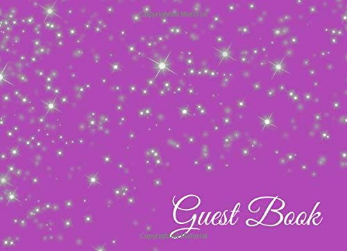 (Guest Book: Party Guest Book White on Lavender for Weddings, Birthday Parties, Bridal Showers, and Fun Events for Women (Volume 7, Band 7))