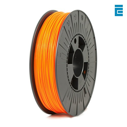ICE Filaments ICEFIL1PLA112 PLA filament, 1.75mm, 0.75 kg, Obstinate Orange