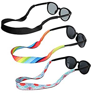 7c74f1f83c95 Image Unavailable. Image not available for. Colour  Hifot Sunglasses Holder  Strap ...