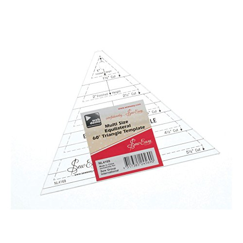 Quilt Schablone, Form Triangle