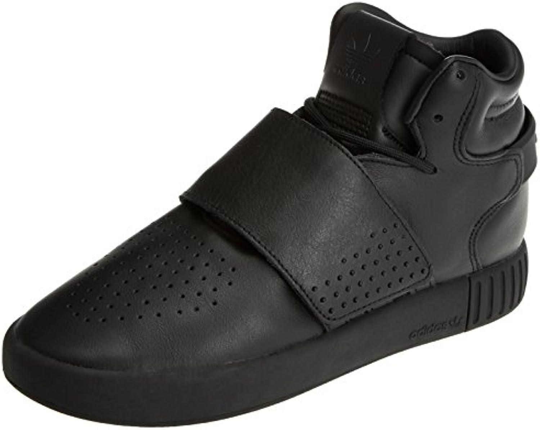 adidas Tubular Invader Strap - Zapatillas para Hombre, Negro - (Negbas/Negbas/Neguti) 36 2/3