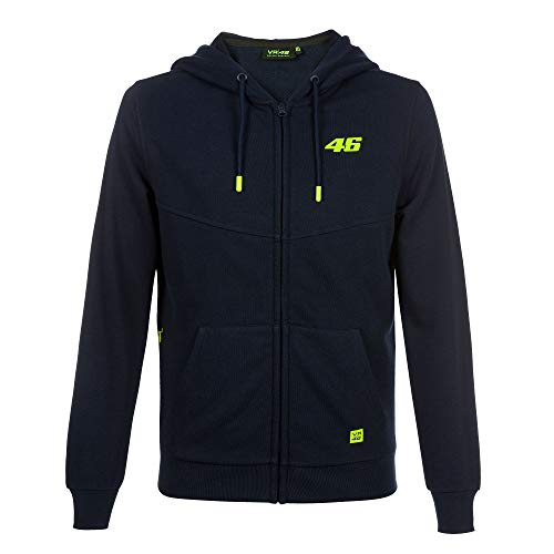 VR46 Sweat Core Small Number 46 Moto GP - Blu - L
