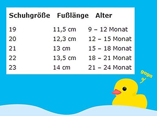 Baby Hausschuhe Babysocken ABS Gummisohle Babyschuhe Antirutsch Gr.19-23(9-24Monate) Badeschuhe versch.Farbe Elch Gelb