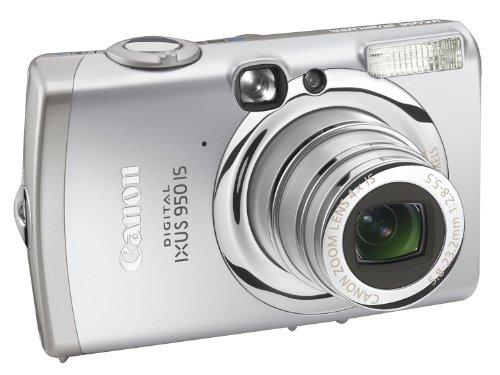 Canon Digital Ixus 950 IS Digitalkamera (8 MP, 4-fach Zoom, 6,4cm (2,5 Zoll) Display, Bildstabilisator)