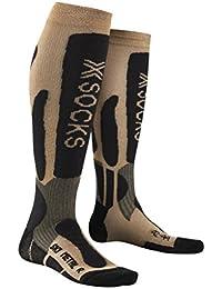 X-Socks Ski Metal oro antracita, hombre, Gold/Anthracite