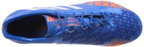 adidas Fußballschuh Predator LZ TRX FG Blau/Weiß/Orange