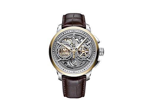 Reloj Automático Maurice Lacroix Masterpiece Skeleton, Cronógrafo, Oro 24k
