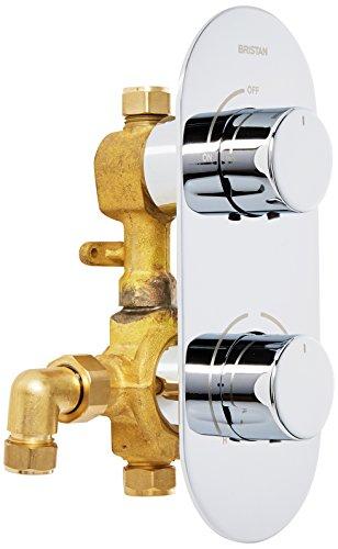 Bristan EXD SHCVO C Exodus - Válvula de ducha termostática empotrable de...