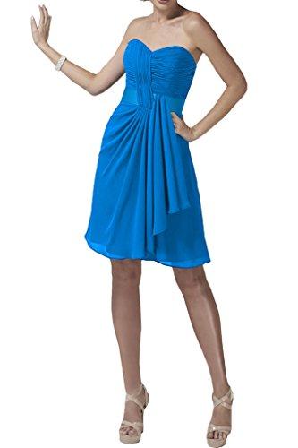 Missdressy - Robe - Trapèze - Femme Bleu - Bleu