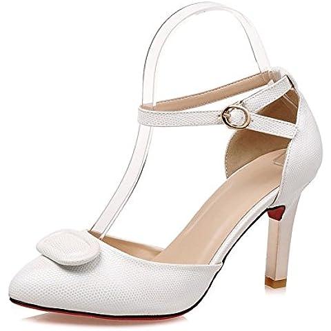 tacchi a spillo/Un lato sexy fibbia vuoto scarpe/scarpe a punta