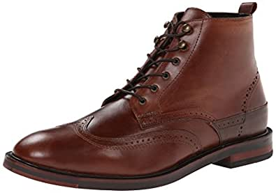 H By Hudson Harland, Boots homme - Marron - Brun, 41 EU (7 UK )