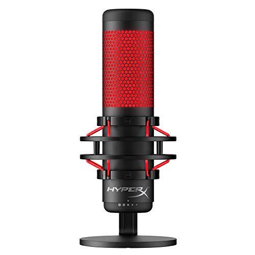 QuadCast - Standalone-Mikrofon mit umfangreichen Funktionen für Streamer Gamer [ ]