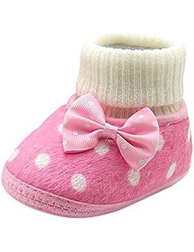 Trada Baby Schuhe Neugeborenes Mädchen Winter Warm Schuhe Erstlingsschuhe Niedlich Bowknot Heiß Weiche Sohle Krippe...