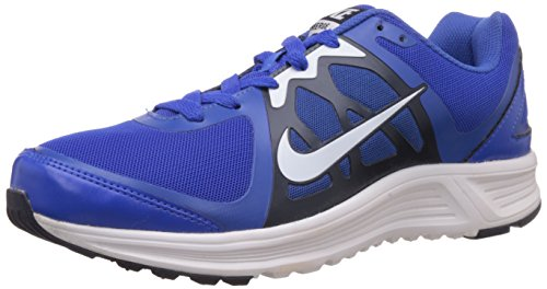 Nike Men's Emerge Cobalt and White Mesh Running Shoes - 7 UK