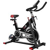 Monociclos Deportes Bicicleta Indoor Ejercicio Bicicleta Bodybuilding Bicicleta Deportes Aerobic Bicicleta (Color : Black, Size : 112 * 45 * 95 cm)