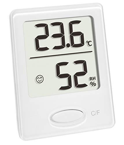 TFA Dostmann Digitales Thermo-Hygrometer, Hygrometer Innen, mit Komfortanzeige, zur Raumklimakontrolle