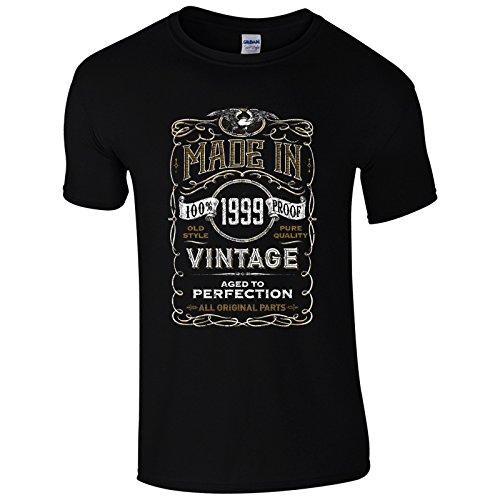 UKPrintwear Herren T-Shirt Schwarz