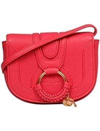 SEE BY CHLOÉ Mujer CHS17AS9013056X7 Rojo Cuero Bolso De Hombro
