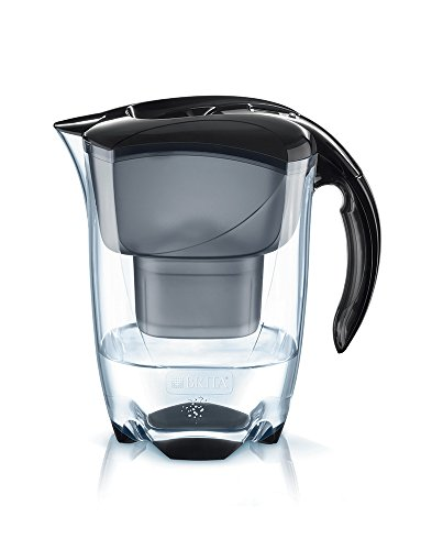 BRITA Elemaris - Jarra de Agua Filtrada con 1 Filtro MAXTRA+, color negro