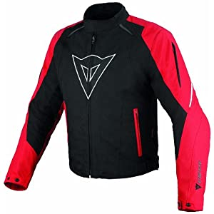 Dainese 1654565 Laguna Seca D-Dry, Black/ Red/ White, XL, Size : 58