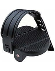 Pedali Cyclette con Cinturino Perno 1/2 12mm Black
