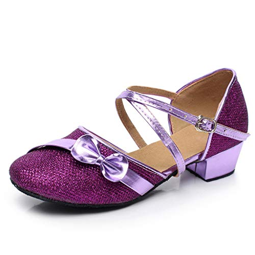 Allence Latin Schuhe Babys, Prinzessin Sandalen für Mädchen, Kleinkind-Tanzen-Ballsaal-Tango-einzelne Schuhe, Kinder Wanderschuhe