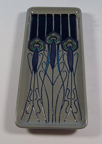 Moorcroft Peacock Parade Pen Tray Nicola Slaney 965 Shape 1sts Quality