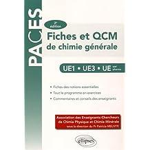Fiches et QCM de Chimie Générale PACES UE1 UE3 UE Spé Pharma