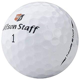 lbc-sports Wilson Staff Dx3 Golfbälle - AAAAA - PremiumSelection - Weiß - Lakeballs - gebrauchte Golfbälle (12 Bälle)