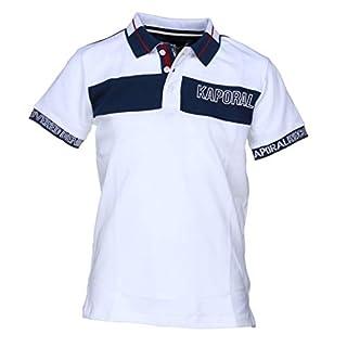 Kaporal Boy's Aztek Polo Shirt, White, 12 Years