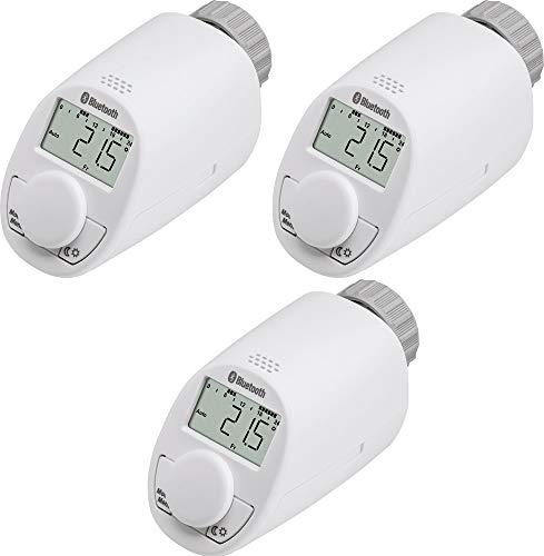 Heizkörperregler Einfache Einstellung von Temperatur, Heiz- und Sparzeiten