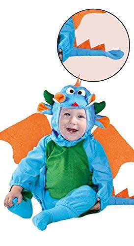 Guirca costume da neonato draghetto 12/24 mesi, colore, 1-2 anni, 82436