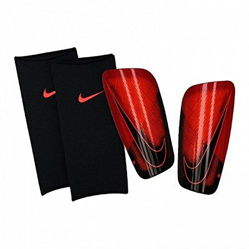 Nike Herren Mercurial Lite Schienbeinschoner, Bright Crimson/University Red, Gr. L