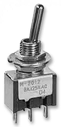 1357685 M2018SS1W01 Toggle Switch, M Series, Non Illuminated, SPDT, / uk stock -