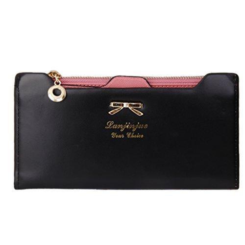 moda-portafoglio-donna-in-pu-pelle-borsellino-con-lampo-porta-carte-di-credito-nero