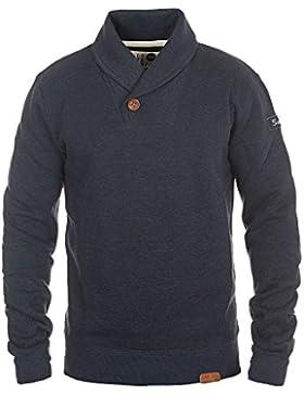 SOLID TripShawl Herren Sweatshirt Pullover Schalkragen